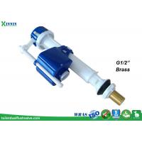 """China Telescopic bottom fill valve with brass shank G1/2"""" for 1-pc and 2-pc toilet wholesale"""