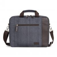 China OEM new series fashion Linen laptop bags computer bags on sale