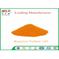 China 180 Solubility Reactive Yellow Fabric Dye WDE C I Yellow 145 One Phase Printing Process wholesale