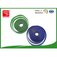 China Fire Retardant Hook And Loop Fastener Tape , Self Adhesive Velcro Tape Roll wholesale