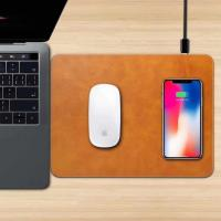China Apple mouse pad with wireless charger, wireless charging base for Iphone 8(plus)/X, Iphone X wireless charging base wholesale