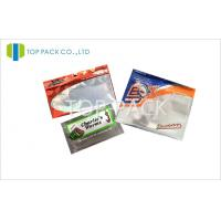 China Water Proof Fishing Bait Resealable Pouches With Clear Window wholesale