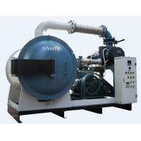 Buy cheap 1400 ° C vacuum box furnace unit with high vacuum pump system from wholesalers