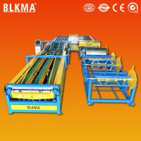 China rectangular ventilation duct board machine / air duct production line wholesale