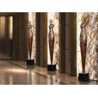 China Floor Standing Shop Window Displays Accessories Copper Statue For Shop Window Decoration wholesale