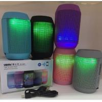 China MY500BT Mini Bluetooth Wireless Speaker Portable Stereo Speakers 3D Sound led lights TF on sale