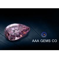 China High Hardness Pear Shaped Moissanite For Rings / Earrings Sythetic Stones wholesale