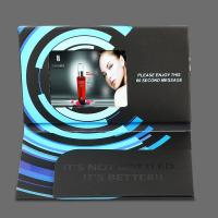 China Bespoke 5 Inch Video Brochure Card , LCD Greeting Card With Video Screen on sale