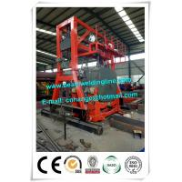 China Oil Tank Welding Rotator , Automatic Welding Positioner For Tank Seam Welding wholesale