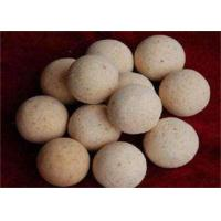 China 1900 Degree Size 40,50,60 Refractory Ball For Hot Blast Stove , High Temperature Resistance wholesale