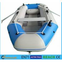 China 10.8 Ft Portable Inflatable Float Boat Aluminum Floor With 4 Individual Air Chambers wholesale