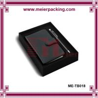 Quality black decorative cardboard storage boxes, pen and book packaging box ME-TB018 for sale
