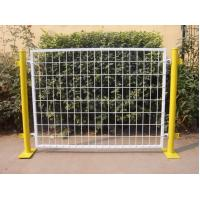 Buy cheap 50*100 MM Mesh Plastic Coated Temporary Welded Wire Mesh Fence Panels from wholesalers