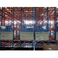 China Cold Chains Q235B Steel Storage Racks Spacing Saving Pallet Racking Shelves wholesale