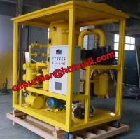 China Double Stage Vacuum Oil Purifier Machine, Transformer Oil Dual Distillation System wholesale