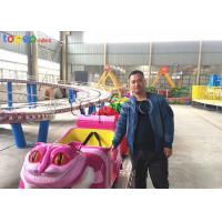 China Carnival Shuttle 380V Mini Roller Coaster For Toddlers  20 Seat 1.9 M Height wholesale