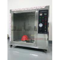 China Safety Helmet Flammability Test Chamber For Hard Hat Manufacturers IS0 3873 wholesale