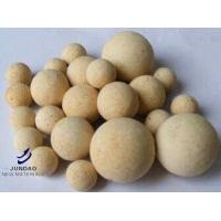 Quality 80% Al2O3 Quality Insulating Castable Refractory Ball For Blast Furnace for sale