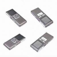 China 1.44-inch LCD Screen Pen Drive Voice Recorders, Metal Cover, Taking Video Function wholesale