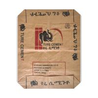 Quality Water Resistant PP Woven Sack Bags With Valve , Recycled Cement Bags 50kg Capacity for sale