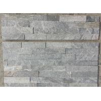 China Grey Quartzite Culture Stone,Grey Thin Stone Veneer,Quartzite Stacked Stone,Natural Stone Cladding,Ledgestone wholesale