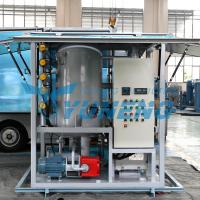 China Double Stage Transformer Oil Filter Machine Increasing Breakdown Voltage wholesale