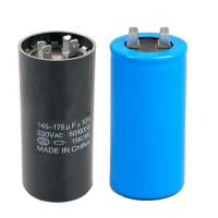 Round Motor Start Capacitor for Air Conditioner and Refrigeration