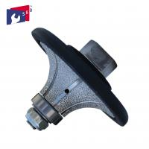 China Demi Bullnose Diamond Router Bits , Hard 5mm Router Bit 3 / 16 Inch wholesale
