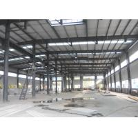 China Metallic Structural Steel Workshop Wide Span Earthquake Resistance Water Proffing wholesale