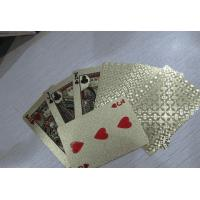 China Gold Foil Playing Cards wholesale