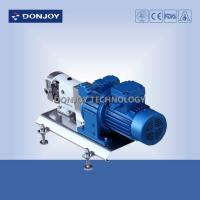 China 316L Horizontal TUL Lobe High Purity Pumps with Explosion proof Motor Clamp End Connection wholesale