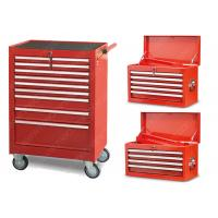China Auto Repair Mechanic Metal Tool Cabinet , 11 Drawer Mobile Tool Cabinet SPCC Material wholesale