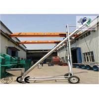 China Mobile Stainless Steel Screw Conveyor ,  Inclined Screw Conveyor For Salt Chemical wholesale