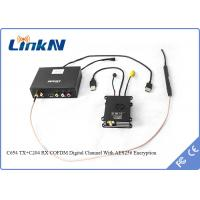 Buy cheap UAV Drone COFDM Transmitter Digital Channel AES256 Low Latency 2MHz - 8MHz from wholesalers