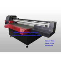 China Digital Uv Flatbed Printing Machine , Wide Format Flatbed Printer High Speed wholesale