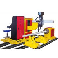 China Energy Efficiency Cnc Automatic Pipe Cutting Machine For Intersection Cutting wholesale