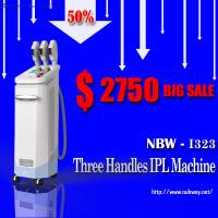 China Top Sale!50% discounts off 3 handles multifunctional IPL salon use beauty machine for sale on sale
