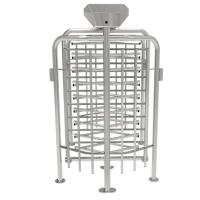 Quality ZKTECO FHT2300D Stainless steel single passage automatic full height turnstile for sale