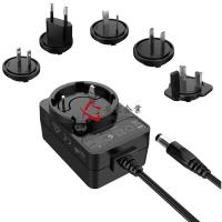 China Removeable AC Plug SMPS 15 Watts Max 12 Volt 1A AC Power Adapters 5V 3A Wall Transformer Power Supply wholesale