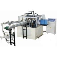 China High Efficiency Automatic Disposable Paper Lid Making Machine With Hot Melt Glue Box wholesale