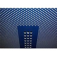 China Decorative Perforated Metal Mesh Plate Hot Galvanized For Ceiling Panels wholesale
