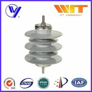 China 12KV 10KA Safety Substation Lightning Arrester , Metal Oxide Surge Protector without Gaps wholesale