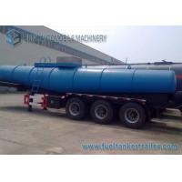 China Concentrated  Sulfuric Acid Tank Trailer 18000 L V Shape Chemical Tanker Trailer wholesale