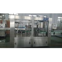 Quality Auto Carbonated Soda Soft Drink Isobaric Filling Equipment / Machine 3000BPH for sale