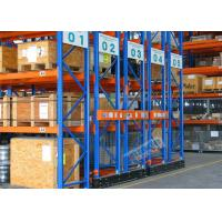 Mobilized Automated Industrial Pallet Racking Weight Capacity 32000 Kg For Warehouse