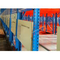 China Electric Mobile Shelving Racks , Customized Material Storage Racks ISO CE Certificated wholesale