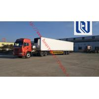 China SHMC 18M SHMC 3 AXLE LORRY CONTAINER TRAILER Can load 15 - 70T Q235 Steels Material With Strong Frame on sale