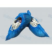 China Personal Care Breathable Disposable Surgical Shoe Covers CPE / PE Material wholesale