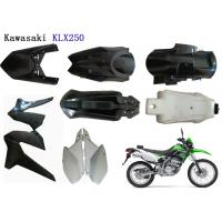 China Kawasaki Klx250 Plastic Motorcycle Kits , Motorcycle Body Cover ABS Plastic Material wholesale
