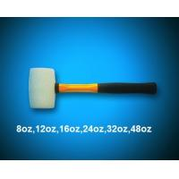China White rubber mallet with fiber handle wholesale